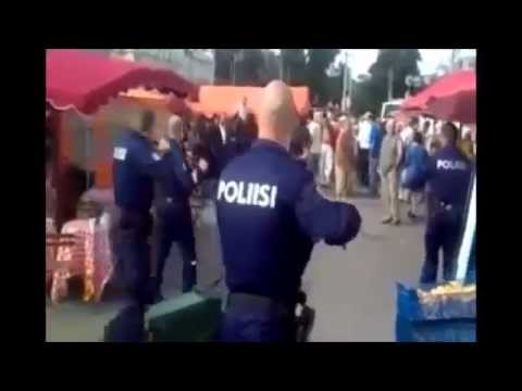Police Officers VS Kung Fu Master [POLICE BRUTALITY]