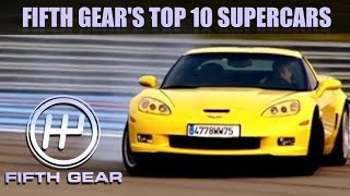 The Top 10 Supercar Collection | Fifth Gear