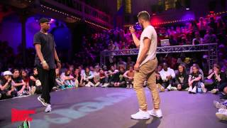 Waydi vs Jimmy Yudat SEMI-FINAL Hiphop Forever - Summer Dance Forever 2015