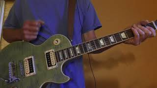 Enough, Jeremy Camp, up close electric guitar for instructional purposes