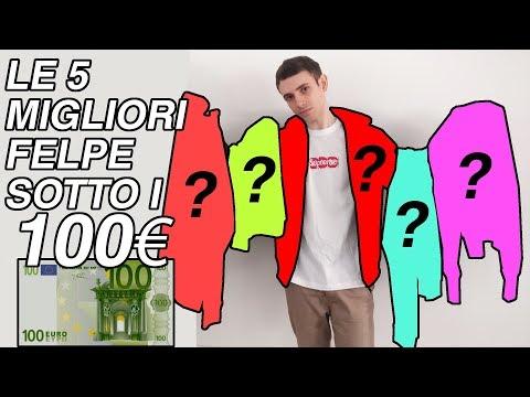 LE 5 MIGLIORI FELPE SOTTO I 100€