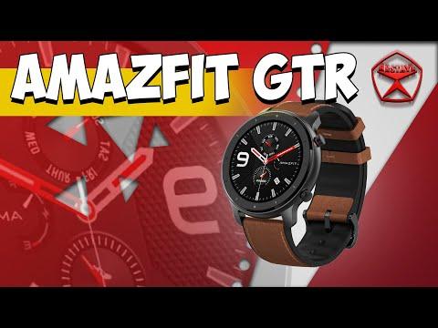 Это Amazfit GTR, спортивные часы. Обзор от / Арстайл /