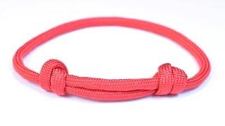 Make The Sliding Knot Friendship Paracord Bracelet - Bored Paracord