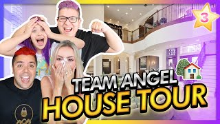 HOUSE TOUR 🏡🌟 CONOCE LA ANGEL'S HOUSE!! | CAP 3 TEAM ANGEL