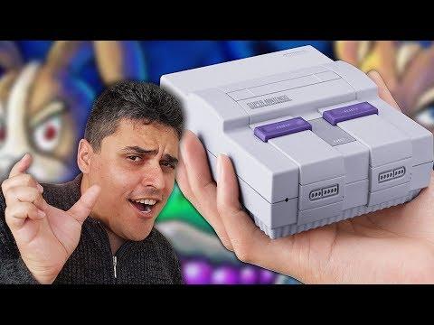 O que podemos esperar do Super Nintendo Classic MINI?