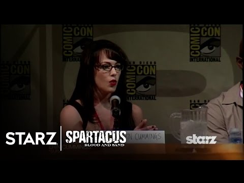 Spartacus: Blood and Sand | San Diego Comic-Con 2009 Panel Highlights | STARZ