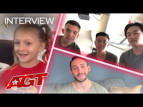 Alexis Brownley, Kameron Ross, and The Shape Chat About AGT Memories! – America's Got Talent 2020