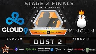 Cloud9 vs Kinguin - Dust 2 (FACEIT Stage 2 Finals)