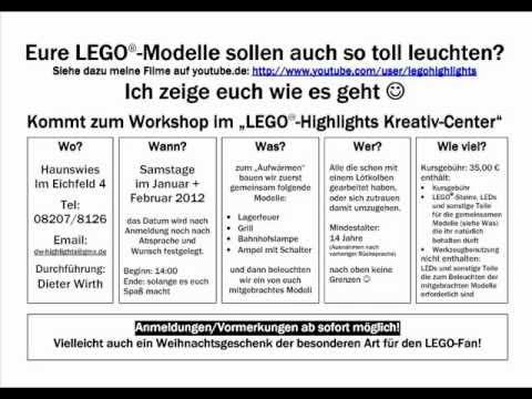 Vorschau 2012 - meine Lego Aktivitäten und Events in 2012