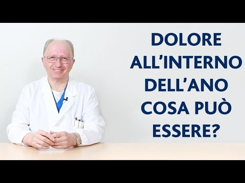 Dolori a causa di gas intestinali prima di defecazione