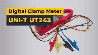 UNI-T UT243 Digital Power Clamp Meter — Video Review