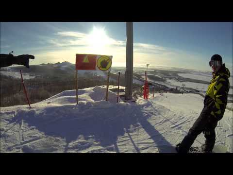 Видео: Видео горнолыжного курорта Горнолыжный комплекс Казань - Свияга в Татарстан
