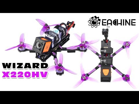 Random 6S FPV test-flight with the Eachine Wizard X220HV (uneditted DVR)