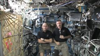 Crew Discusses Life in Space with Connecticut Media