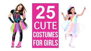 25 Cutest Girls Halloween Costumes!