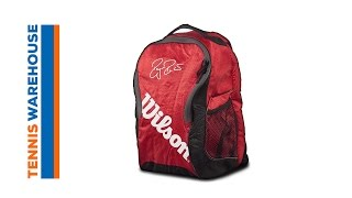 Wilson Federer Team III Backpack video