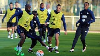 Entrainement de l'Equipe de France mardi à Clairefontaine