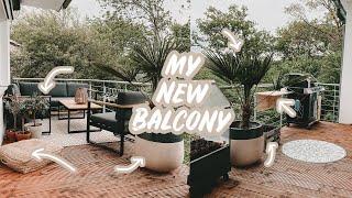 BALKON MAKEOVER - Terrassen Boden schleifen & ölen + DIY Möbel | EASY ALEX