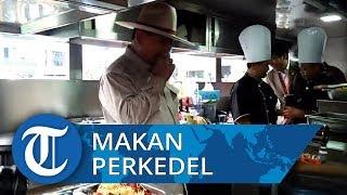 Menhan Prabowo Cicipi Perkedel di Kendaraan Dapur Lapangan