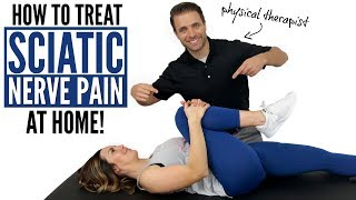 How To Treat Sciatic Nerve Pain At Home - Stenosis
