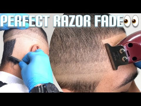 How to do a razor fade by Bestest Barber (MUST WATCH)