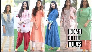 INDIAN OUTFIT FOR SUMMERS    BIBA HAUL   INDIAN OUTFIT IDEAS   SHIVSHAKTI SACHDEV