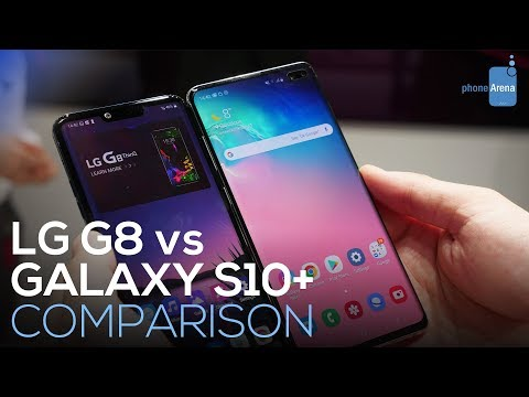 Video over LG G8s ThinQ