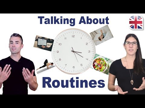 Talk About Your Daily Routine in English - Spoken English Lesson