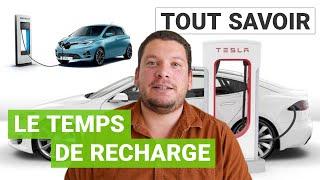 Tout savoir sur le temps de recharge d'une voiture électrique