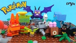 Donphan  - (Pokémon) - Lego Pokemon Togetic,Umbreon,Crobat,Slugma,Donphan,Totodile,Sentret and more Brick-Figures!