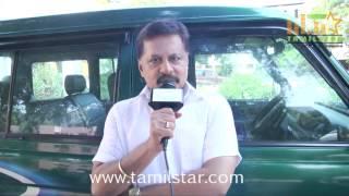 Jayaprakash at Vajram Movie Shooting Spot