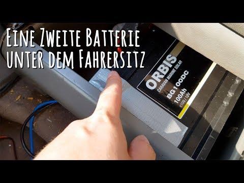 Mehr Strom im #Bulli: Wir haben jetzt eine Gel Batterie unter dem Fahrersitz