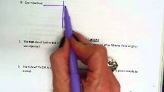 Nuclear Chemistry Part 3 (half-life calculations and uses of nuclear chemistry)