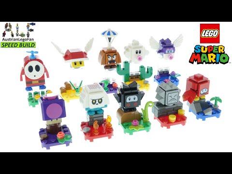 Vidéo LEGO Super Mario 71386-20 : Pack surprise de personnage - Série 2 - Boîte de 20 sachets