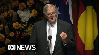 """Hawke Memorial: Kim Beazley delivers the eulogy for his """"mentor"""" Bob Hawke 