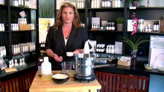 How to Make Your Own Natural Base Cream for Skin & Hair : Natural Skin Care