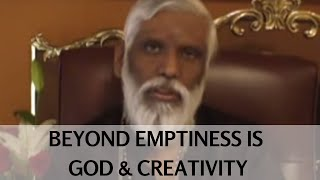 Beyond Emptiness Is God and Creativity