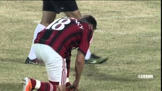 AC Milan Legends 1-1(4-6) China Old boys HIGHLIGHTS 11/10/2014
