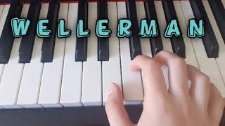 Wellerman Sea Shanty Melodie ganz einfach auf dem Klavier spielen