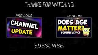My New YouTube Outro |2017|