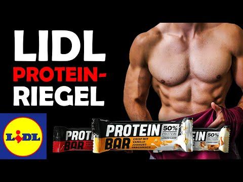 LIDL Proteinriegel im Test!