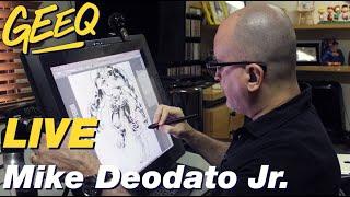 Live Do GEEQ Com Mike Deodato