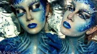 Ice Queen Makeup - Entry To UrbandeKAYbabes Contest (Halloween)