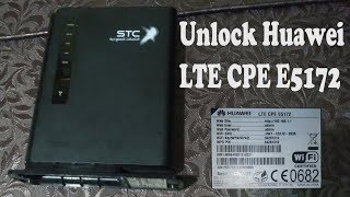 Unlock Huawei LTE CPE E5172 Without any cable