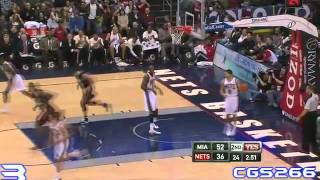 LeBron James Top Ten Plays 2010-2011 Season (First with Heat)- CGS266