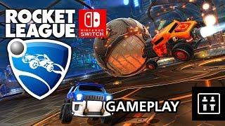 Rocket League (Nintendo Switch) – Gameplay