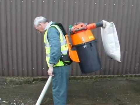 Sırta Takılan vakumlu yaprak ve çöp toplama makinası-Overton HV 75