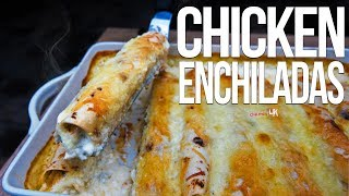 The Best Chicken Enchiladas | SAM THE COOKING GUY 4K