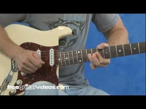 Am Pentatonic Blues Guitar Licks
