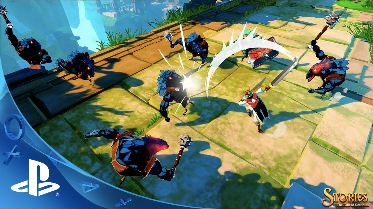 Stories: The Path of Destinies Out Today on PS4